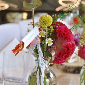 Hochzeitsdeko - Restaurant Werkstatt - Maxi Gastro, die Gastronomie im Maxipark Hamm.