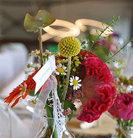 Hochzeit - Tischdekoration - Maxi Gastro, die Gastronomie im Maxipark Hamm.