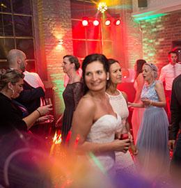 Hochzeitsparty - Maxi Gastro, die Gastronomie im Maxipark Hamm.