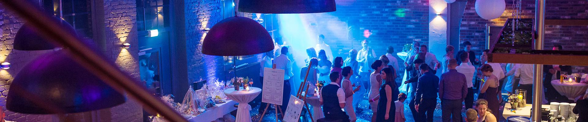 Hochzeitsfeier - Restaurant Werkstatt - Maxi Gastro, die Gastronomie im Maxipark Hamm.