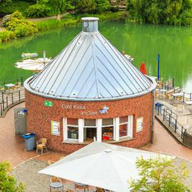 Seekiosk - Maxi Gastro, die Gastronomie im Maxipark Hamm.