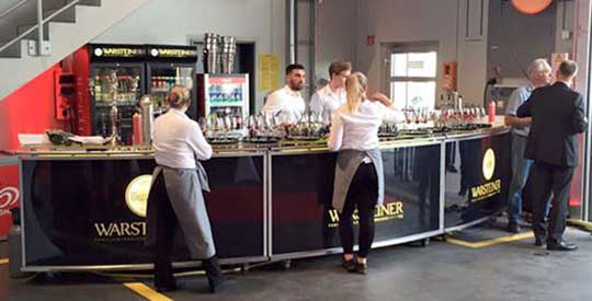 Veranstaltung - Catering - Restaurant Werkstatt - Maxi Gastro, die Gastronomie im Maxipark Hamm.